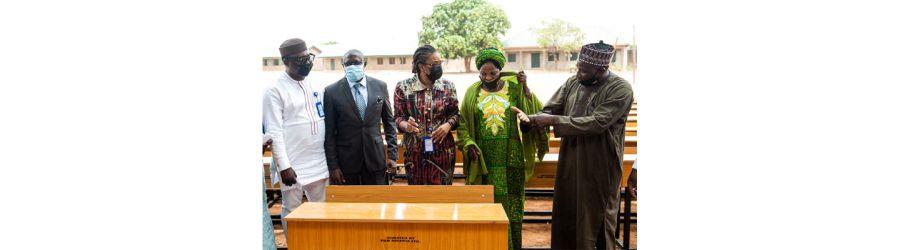 PAN Nigeria donates equipment to Kaduna school