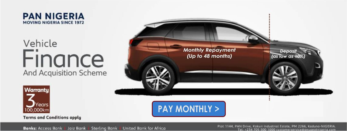 Buy your dream car, pay monthly